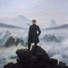 Caspar David Friedrich Le Voyageur contemplant une Mer de Nuages